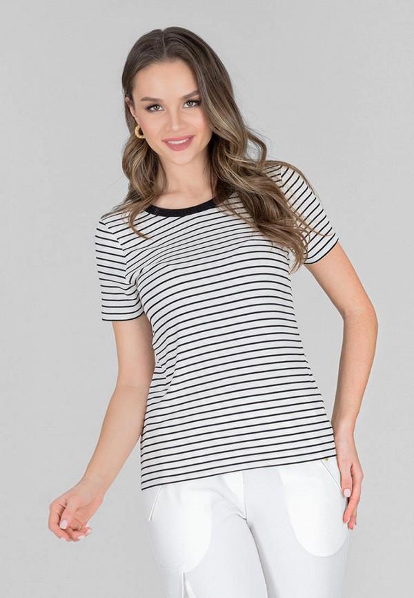 женская футболка eliseeva olesya, разноцветная