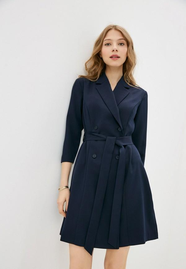 женское платье-пиджаки vittoria vicci, синее