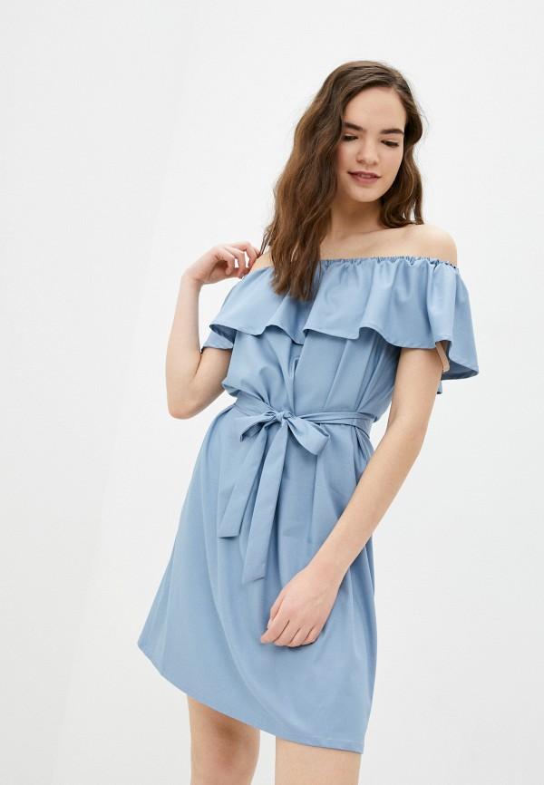 женское вечерние платье vittoria vicci, голубое