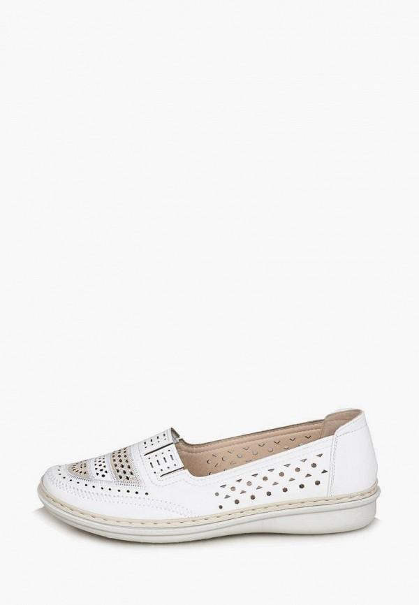 женские туфли с закрытым носом t.taccardi, белые
