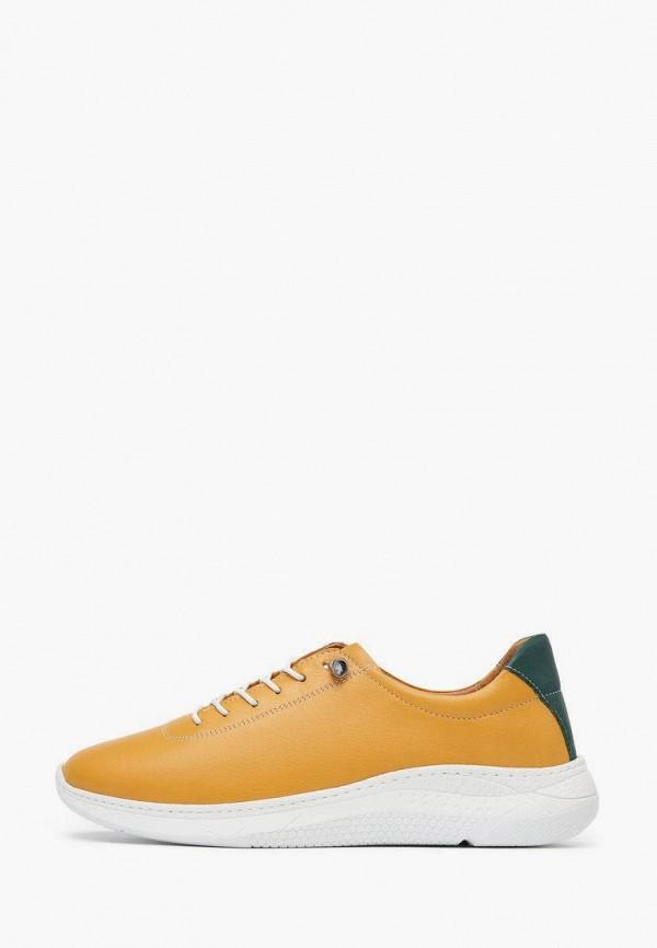 женские низкие кроссовки alessio nesca, желтые