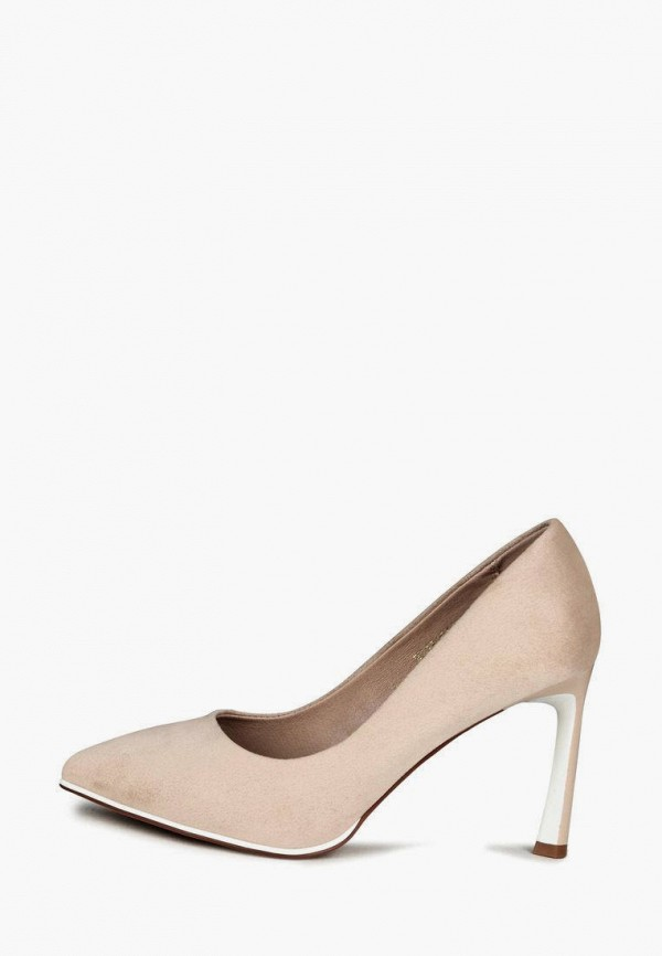 женские туфли-лодочки t.taccardi, бежевые