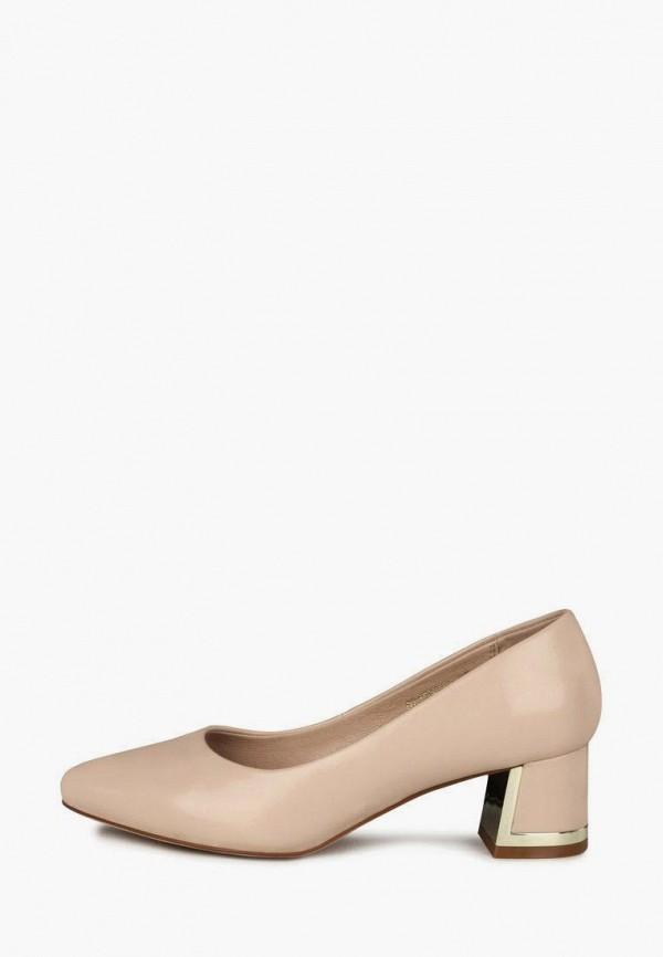 женские туфли с закрытым носом t.taccardi, бежевые