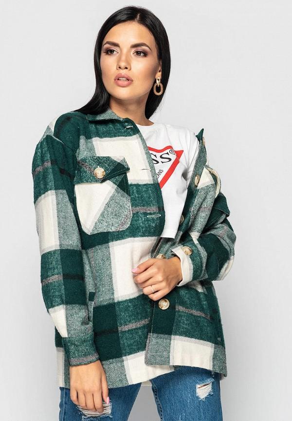 женская куртка larionoff, зеленая