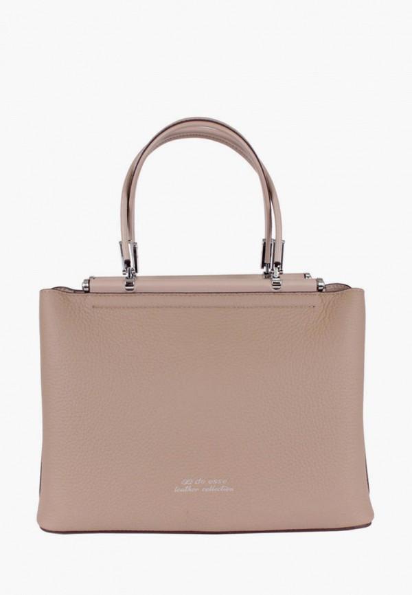 женская сумка de esse, бежевая