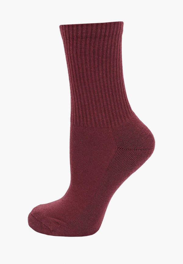 женские носки calzedonia, бордовые