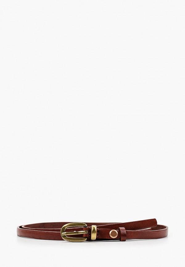 женский ремень mayerbeltts, коричневый