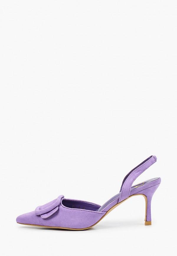 женские туфли may vian, фиолетовые