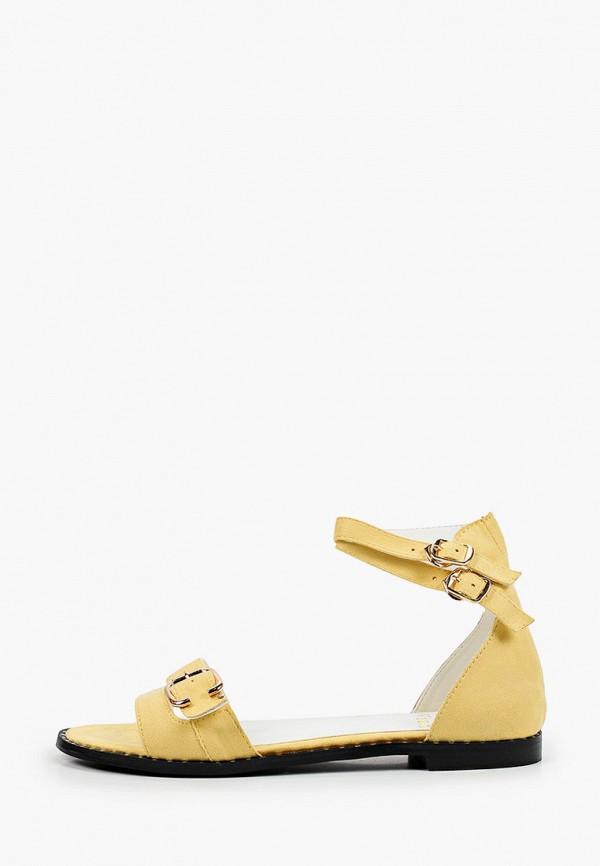 женские сандалии may vian, желтые