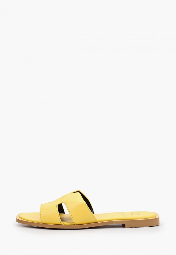 женское сабо may vian, желтое