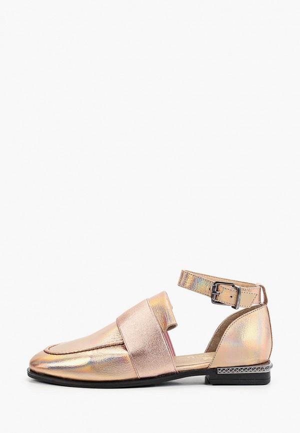женские туфли stivalli, золотые