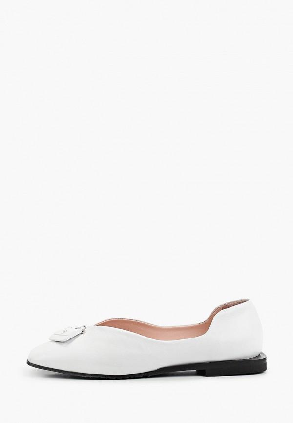 женские туфли с закрытым носом stivalli, белые