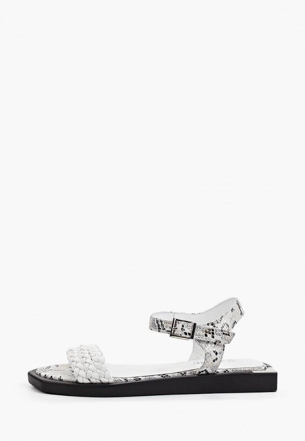женские сандалии stivalli, белые