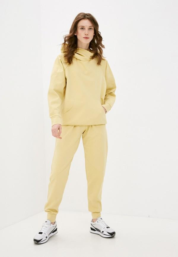 женский спортивный костюм malaeva, желтый