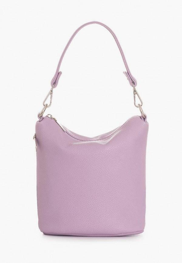 женская сумка с ручками antan, фиолетовая