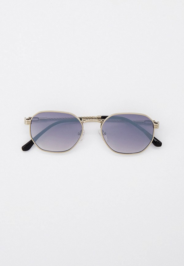 женские квадратные солнцезащитные очки kaizi, серебряные