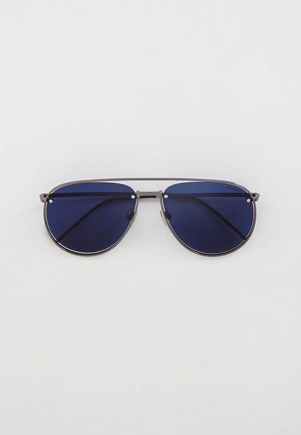 женские авиаторы солнцезащитные очки katrin jones, серебряные