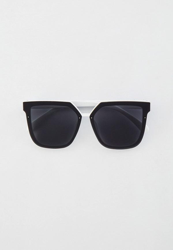 женские квадратные солнцезащитные очки kellis, белые