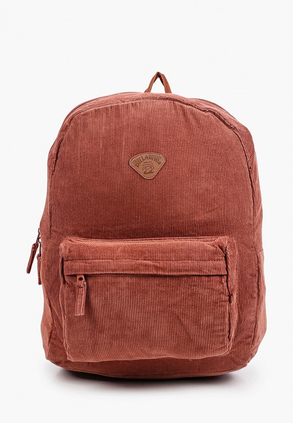 женский рюкзак billabong, коричневый
