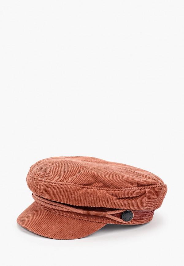 женская кепка billabong, коричневая