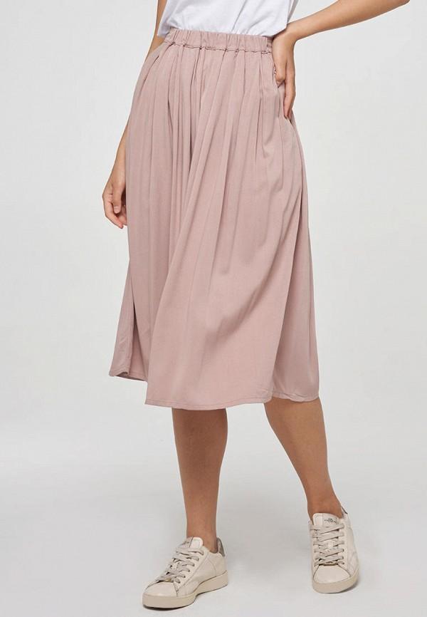 женская прямые юбка vay, розовая