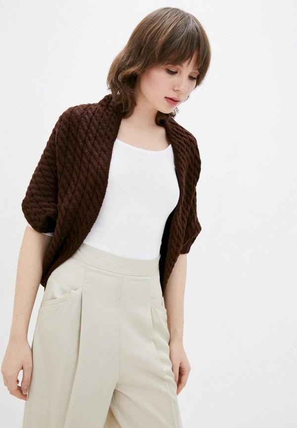 женский кардиган sewel, коричневый