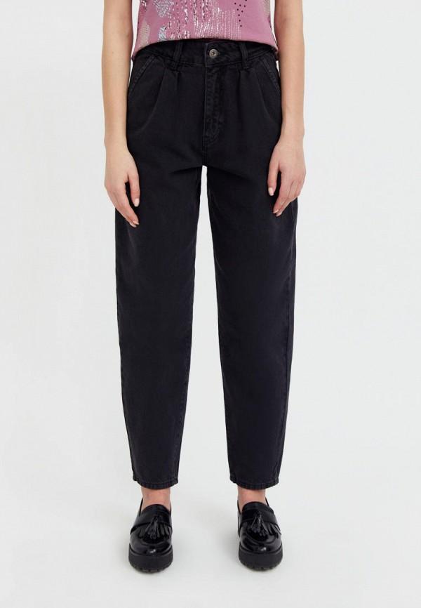 женские джинсы-мом finn flare, серые