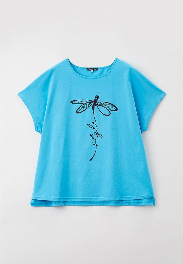 женская футболка averi, голубая
