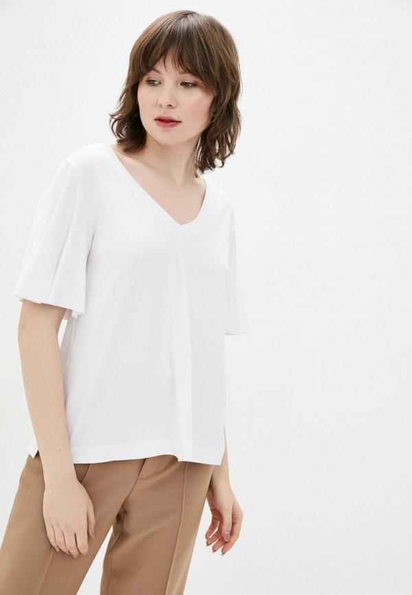 женская футболка promin, белая