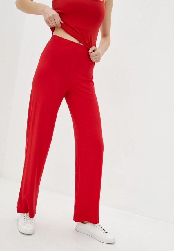 женские повседневные брюки promin, красные