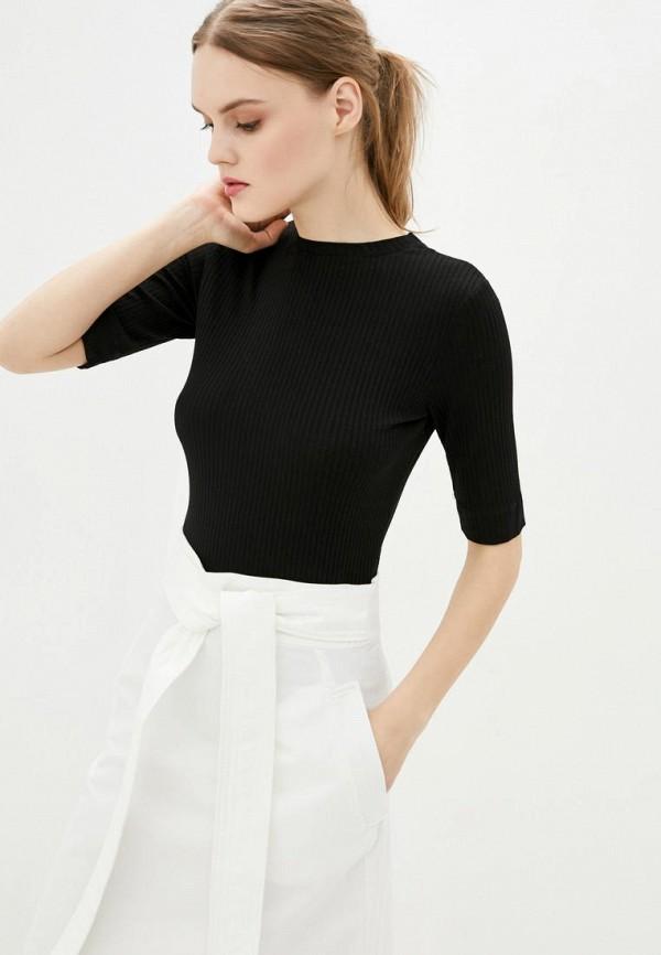 женская футболка promin, черная