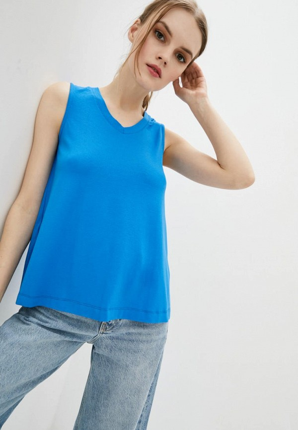 женский топ promin, синий