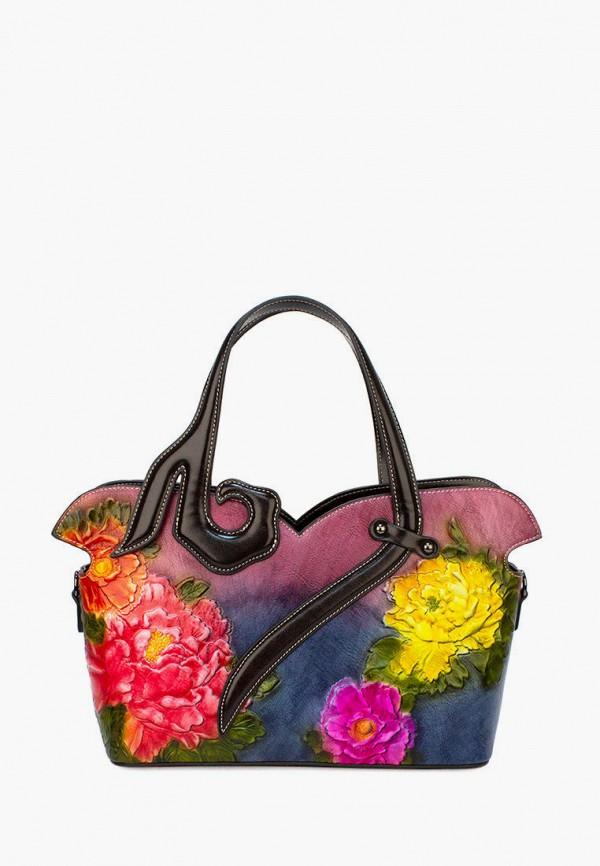 женская сумка с ручками laccoma, разноцветная