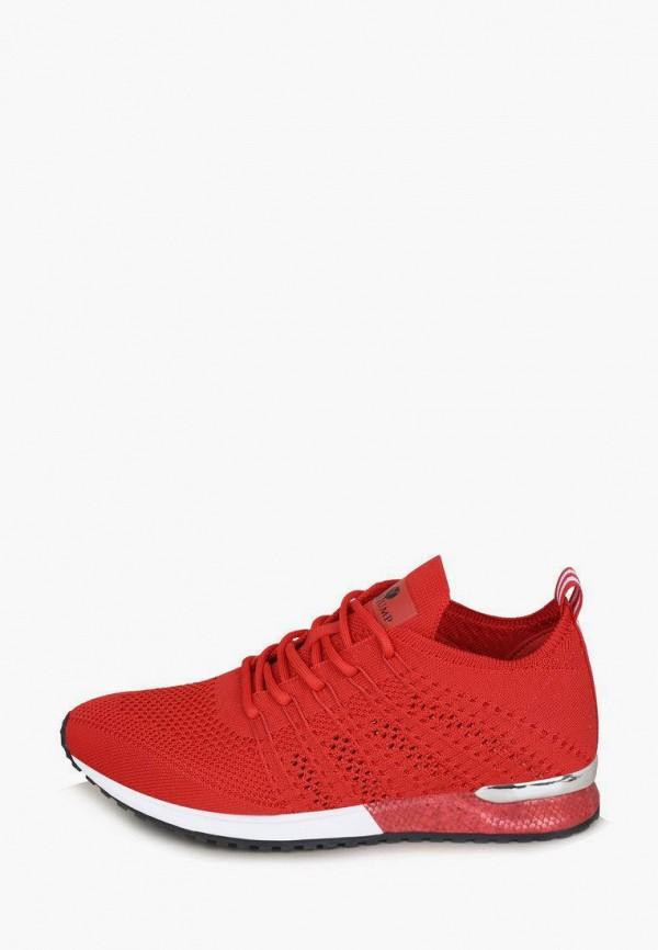 женские низкие кроссовки timejump, красные