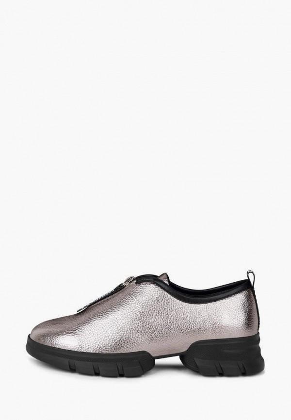 женские низкие ботинки t.taccardi, серебряные