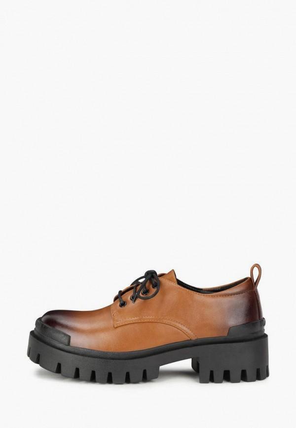 женские низкие ботинки t.taccardi, коричневые