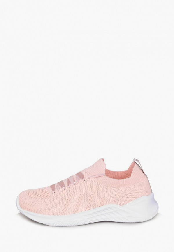 женские низкие кроссовки timejump, розовые