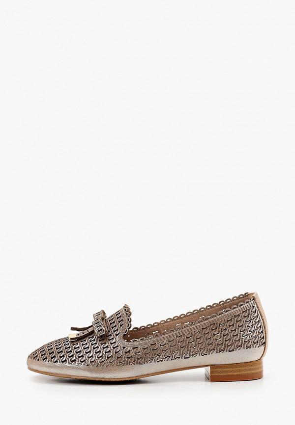 женские лоферы o-live naturalle, коричневые