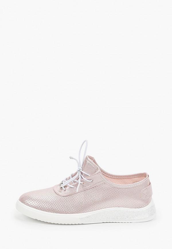 женские низкие ботинки enjoin', розовые