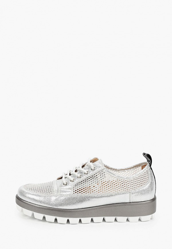 женские низкие ботинки enjoin', серебряные