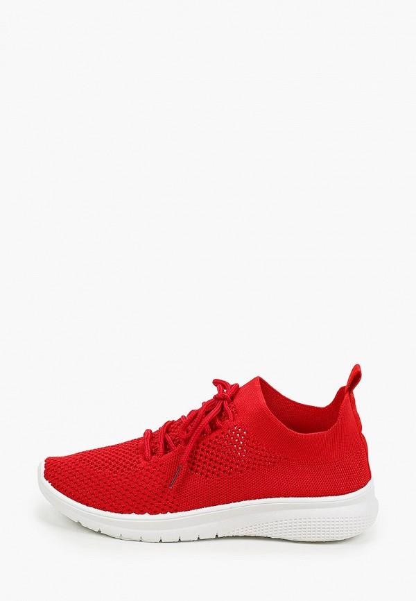 женские низкие кроссовки x-plode, красные