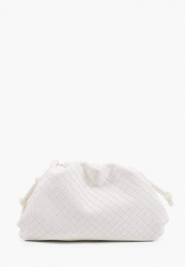 женская сумка через плечо incity, белая