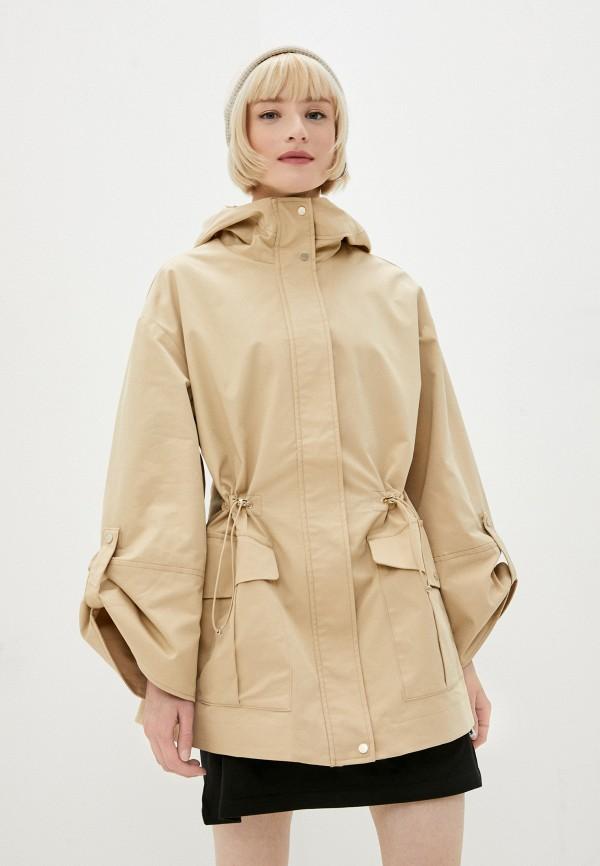 женская легкие куртка o'stin, бежевая