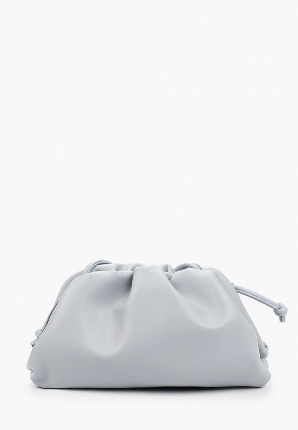 женская сумка через плечо incity, голубая