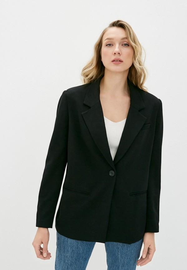женский пиджак sela, черный