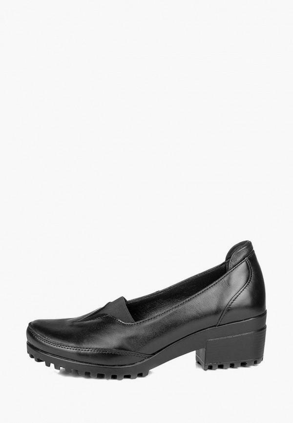 женские туфли mistral, черные