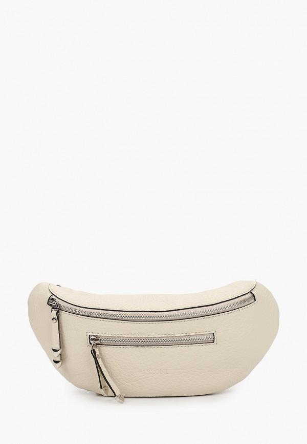 женская поясные сумка basconi, белая