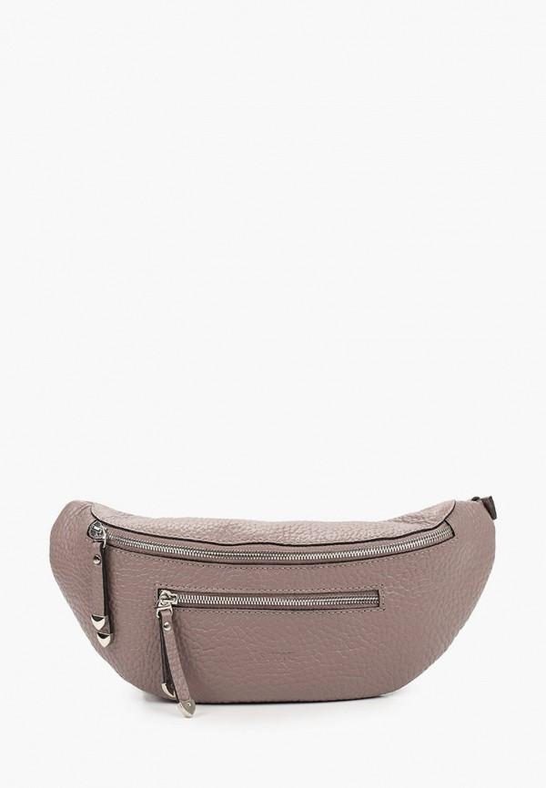 женская поясные сумка basconi, коричневая