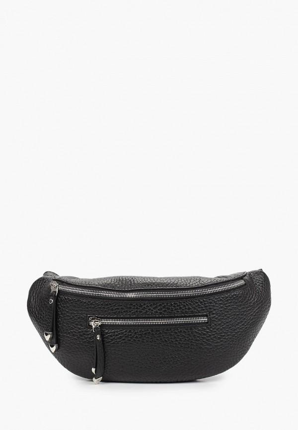 женская поясные сумка basconi, черная