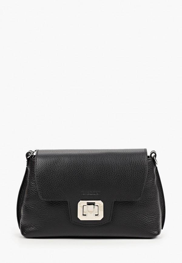 женская сумка через плечо basconi, черная